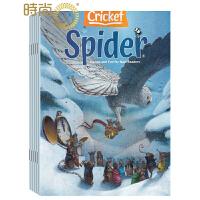 英文原版Spider红蜘蛛2020年全年杂志订阅1年共9期 6-9岁儿童阅读的故事类杂志 2月起订 Cricket M