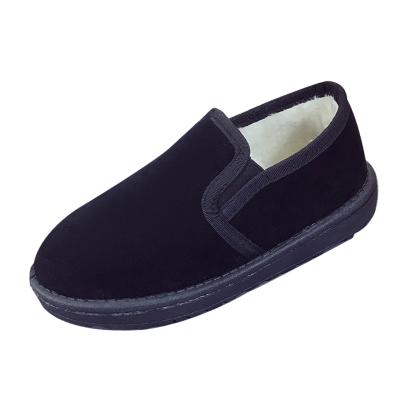 雪地靴女短筒韩版百搭学生冬季绒面保暖加绒一脚蹬低帮棉鞋面包鞋