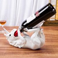 【支持礼品卡支付】欧式红酒架摆件酒具酒托创意酒瓶架家用展示架客厅酒柜餐厅装饰品