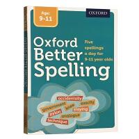 牛津儿童英语拼写词典 英文原版工具书 Oxford Better Spelling 英语单词字典 小学高年级9-11岁