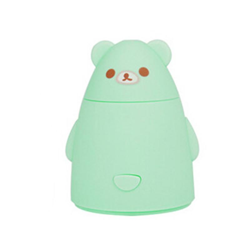 百变熊迷你usb家用静音办公室创意加湿器 香薰雾化器 颜色图案随机