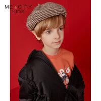 【1件3折叠券约:143.8,12日0点】米喜迪mecity童装冬新款男童可拆卸帽子短款棉服