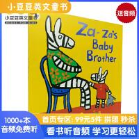 #Za-za's Baby Brother 扎扎的弟弟 小鼠波波作者露西・卡森经典作品童趣故事书 英文原版绘本 平装