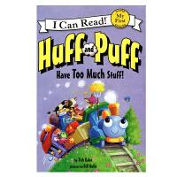 原版进口Huff and Puff Have Too Much Stuff! [4-8岁]