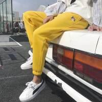 加绒运动休闲裤男士2018秋冬季新款束脚卫裤韩版学生潮流哈伦裤子