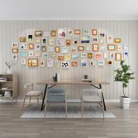 时尚家居馆欧式相框摆台像框架装饰挂墙组合照片墙框 占墙面积约338cm*114cm