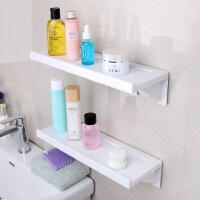 浴室吸盘置物架卫生间免打孔层架洗手间厕所壁挂架子洗漱架收纳架