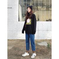 七格格高腰牛仔裤女2019春季新款修身显瘦九分裤学生复古小脚裤子
