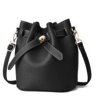 2018新款潮韩版百搭斜挎水桶包子母包时尚手提包单肩小包