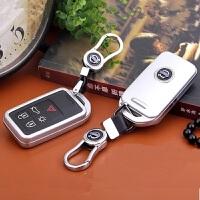 沃尔沃XC60 S60LS80L V60V40汽车钥匙包 钥匙扣 钥匙壳 水银灰 壳+扣 沃尔沃专用 拍前请核对钥匙