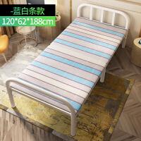 加固折叠床单人床铁床双人床木板床办公室午睡床简易租房陪护家用