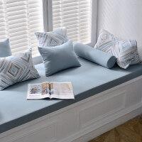 高密度海绵飘窗垫定做北欧阳台垫毯榻榻米垫沙发垫椅垫卡座垫定制