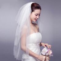 新娘多层头纱婚纱配饰婚礼盘发头饰结婚发饰首饰品