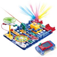 电子积木电路拼装3益智力开发6科学实验7儿童物理8玩具男孩18岁