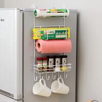 【满减】ORZ 创意冰箱侧挂架置物架简约 厨房用品多功能壁挂吸盘收纳架 客厅省空间储物层架