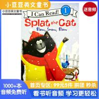 #英文原版 Splat the Cat: Blow, Snow, Blow [4-8岁]