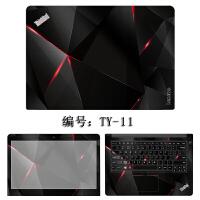 联想笔记本贴纸E470 460 T450 T440 E440 E431 14寸炫彩保护贴膜 TY-11 ABC