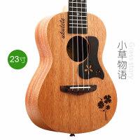 BWS尤克里里23寸乌克丽丽小吉他ukulele木质乐器学生初学者a113