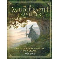 【现货】英文原版 中土旅行者:约翰・豪的魔戒插图 John Howe: A Middle-earth Travelle