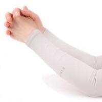夏季冰袖防晒袖套男女士挡紫外线冰丝手臂套袖子开车防晒手套薄款