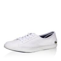 Lacoste法国鳄鱼经典百搭时尚休闲帆布小白鞋 7-27SPW0150