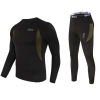战术保暖内衣裤套装冬季户外滑雪骑行紧身保暖功能内衣内裤两件套