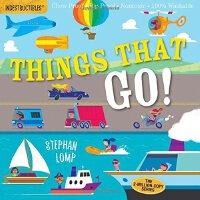 Indestructibles: Things That Go! 防水无毒可咬婴幼儿玩具书:交通工具