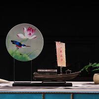 中式禅意创意家居工艺品摆件客厅玄关软装饰品乔迁新居礼品送朋友