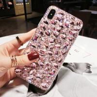新款苹果8plus水钻手机壳女潮网红iphone6s硅胶套全包防摔7p奢华