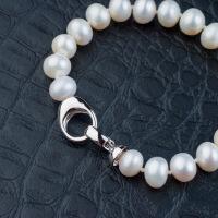 天然淡水珍珠时尚手镯简约手链女士