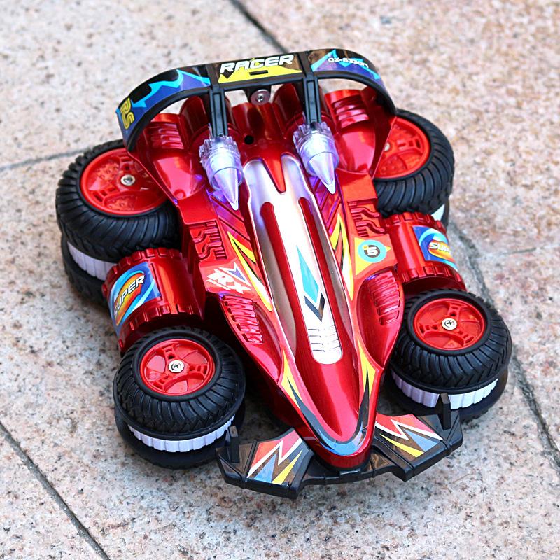20180923225424146?翻滚特技车翻斗车遥控车越野遥控汽车模充电动赛车儿童玩具车男孩