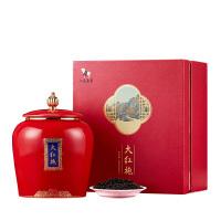 八马茶叶 闽北乌龙茶特级大红袍乌龙茶千里江山国潮礼盒装160g