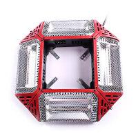 全自动麻将机取暖器麻将桌烤火炉电暖炉电暖扇四面取暖器速热 131四开+支架 赠备用管2根