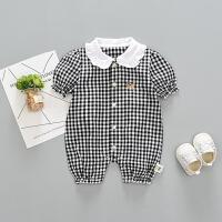 六个月宝宝衣服女夏季女宝宝新生公主0-3套装一1岁婴儿童潮五刚出
