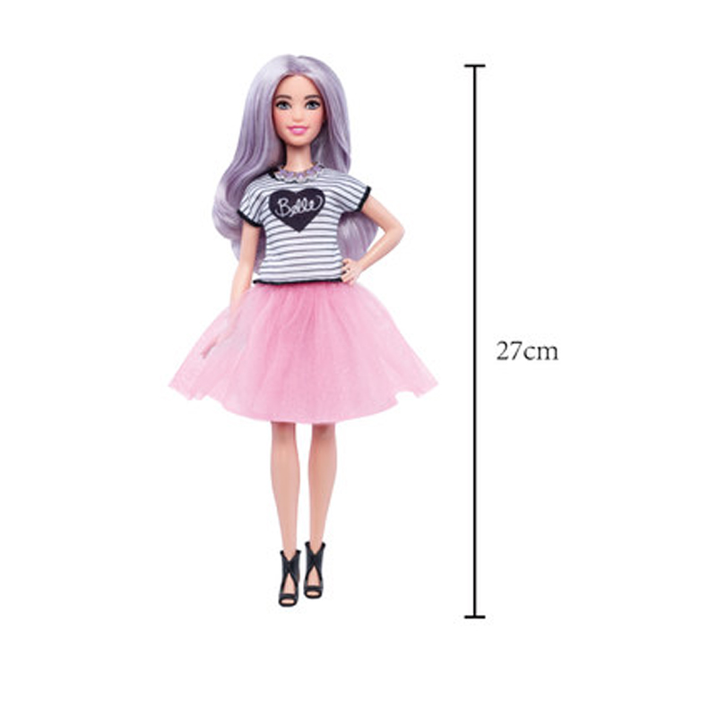 芭比娃娃时尚达人 芭比娃娃套装女孩公主玩具生日礼物 发货周期:一般在付款后2-90天左右发货,具体发货时间请以与客服协商的时间为准