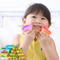 培乐多彩泥20色装基础装 安全无毒玩具女孩橡皮泥 儿童节礼物
