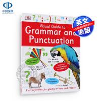 预售英文原版 语法和标点符号的视觉运营指南 Visual Guide to Grammar and Punctuatio