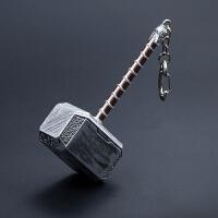 10cm大号雷神之锤钥匙扣挂件 包包挂件 汽车内饰摆件 创意礼物 大号雷神之锤