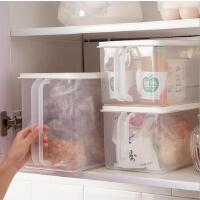 冰箱收纳盒塑料保鲜储物盒透明防尘防潮厨房食品水果密封整理箱