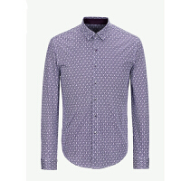 youngor 雅戈尔 新品 YZ52232KAA 男士休闲紫色针织T恤