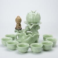 青瓷半全自动泡茶器日式创意防烫功夫茶具套装整套茶壶茶杯