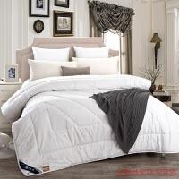 家纺 被芯羊毛被子加厚保暖防钻毛冬被 单双人被芯 220x240 10斤
