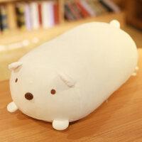 大号长抱枕床上靠枕床头靠垫男朋友大靠背可爱睡觉枕头 角落生物-白熊 90cm