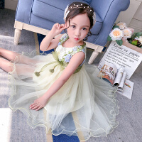 女童夏装新款公主裙儿童夏季连衣裙蓬蓬纱裙女孩洋气裙子