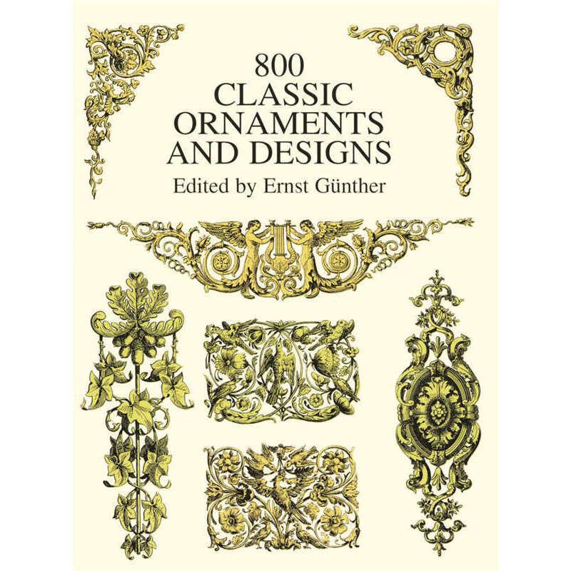 800 Classic Ornaments and Designs (【按需印刷】) 按需印刷商品,15天发货,非质量问题不接受退换货。