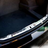 宝马5系改装 内置后护板 1系新3系 7系 x1专用 后备箱饰条