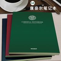 康奈尔A4笔记本文具5R加厚小方格本大学生考研课堂记录本记事本
