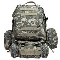 户外军迷用品组合包战术双肩背包男女迷彩登山骑行背包