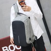 背包双肩包男时尚潮流青年商务旅行大容量男士电脑包休闲学生书包