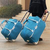 2017新款拉杆包旅行包女手提大容量男通用行李包袋折叠短途旅游包